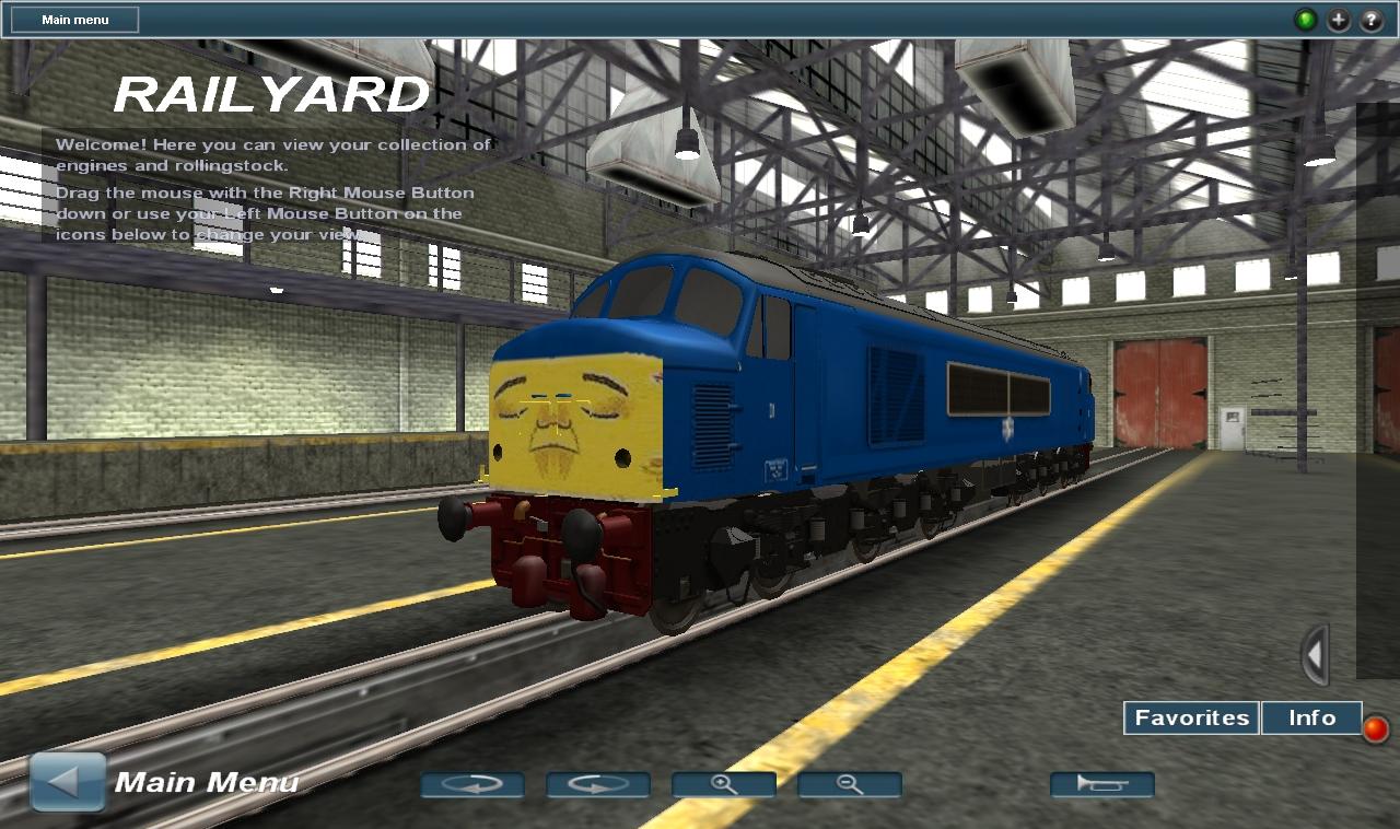 BR Class 46 'Peak' D199 ''Ol Reliable Spamcan'' V3 by OkamiTakahashi