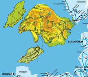 Custom Sodor Headcanon Map V3 by OkamiTakahashi