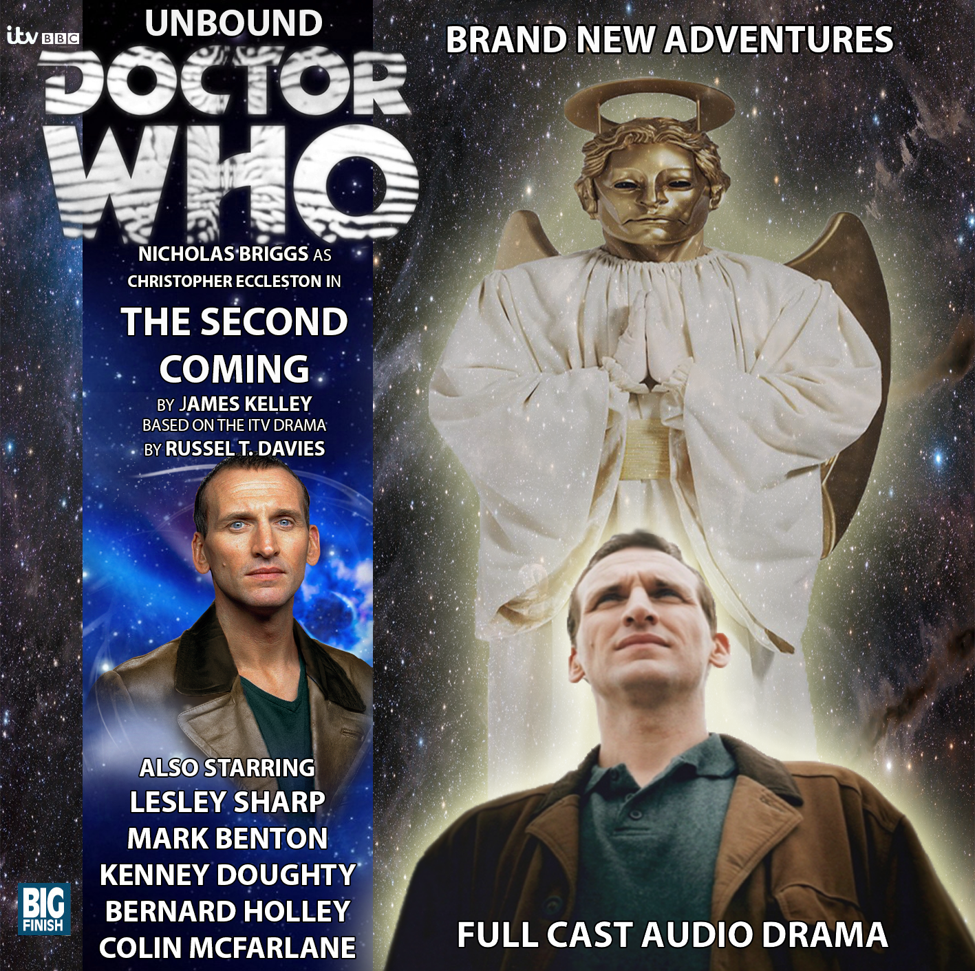 Big Finish Cover- Doctor Who: The Second Coming by OkamiTakahashi on