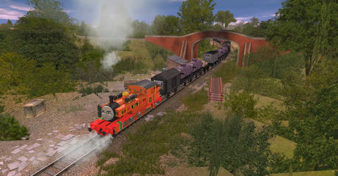 First Time with Troublesome Trucks by OkamiTakahashi
