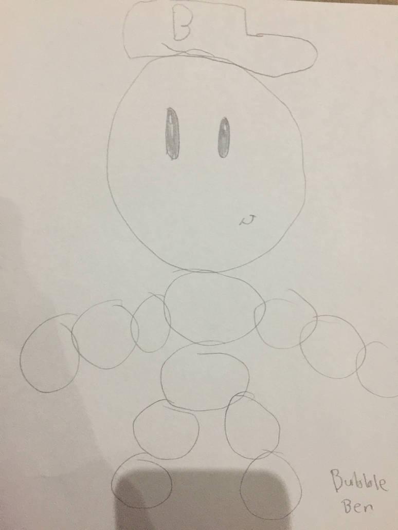 Prototype character 1: Bubble ben by ivanlopezs
