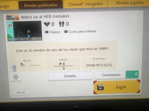 My first level on SMM2