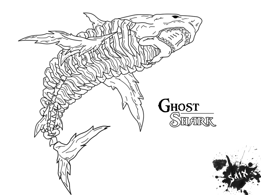 Ghost Shark Tattoo Drawings Best Cars 2018