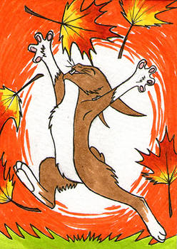 ACEO - Autumn Is Here!