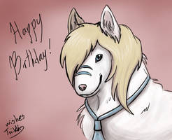 Inu Bday by CPT-Elizaye