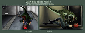 Draw This Again - Dino Crisis