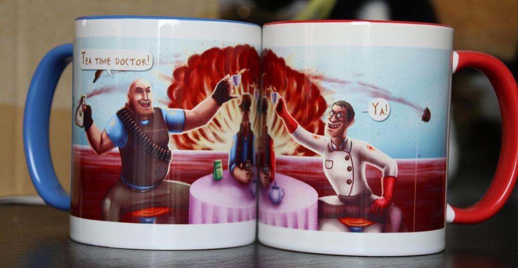 Tf2 Mug by CPT-Elizaye
