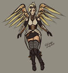 Steampunk Mercy by CPT-Elizaye