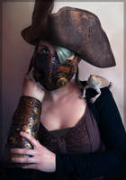 Steampunk Pirate by CPT-Elizaye