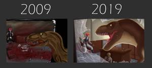 10 Years Challenge - Dino Crisis