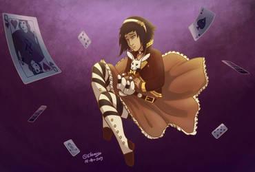 Alice Falling by CPT-Elizaye