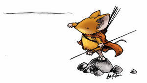 Javelin Mouse by d20plusmodifier