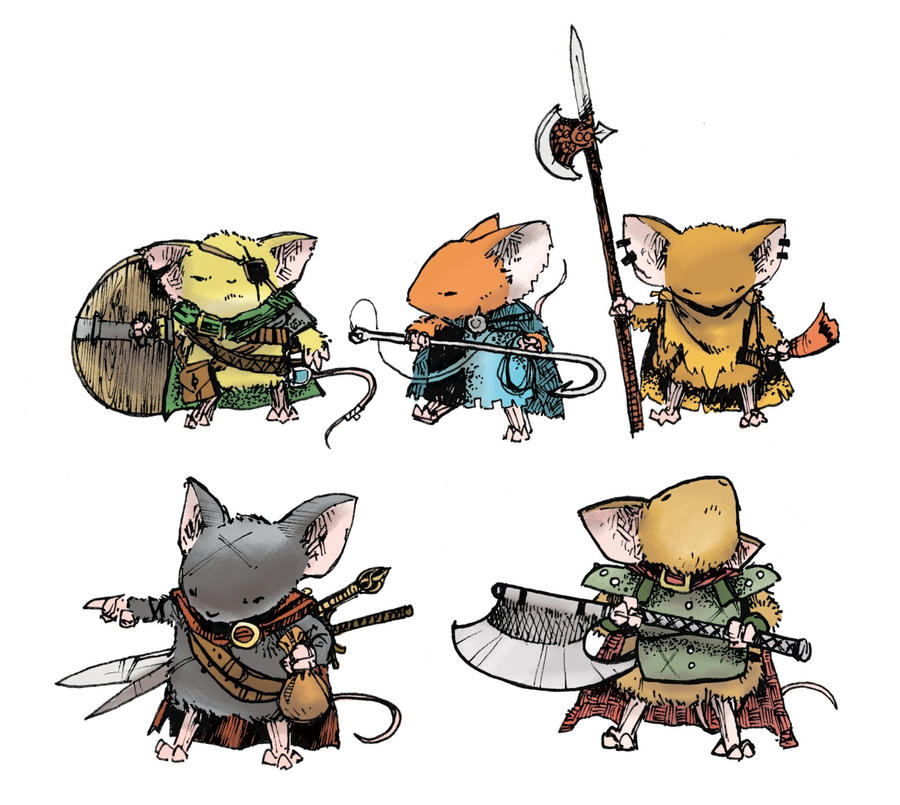 Mouse Guard Rpg Rules