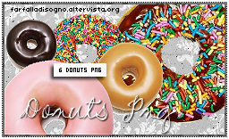 Donuts Png by Farfalladisogno