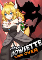 Bowsette by Hach1suka