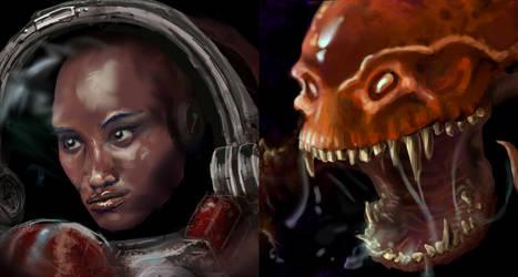 StarCraft Remastered Portrait Contest entries by xiaorobear