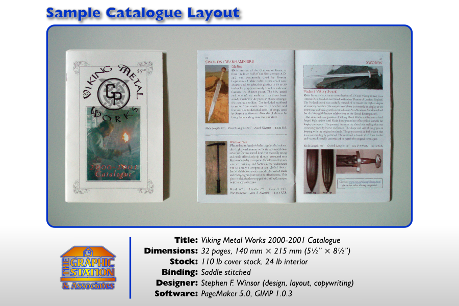Sample Catalogue Layout by TheGraphicStation on DeviantArt