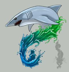 Shark by GreykittenHy