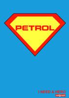 Petrol-Superhero by bojanmustur