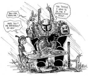 Warhammer 40k by silver-knightquest