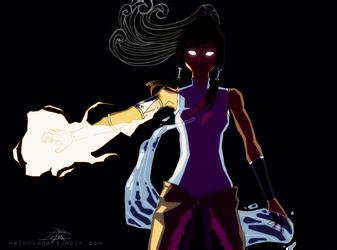 Avatar Korra by themockingmirror