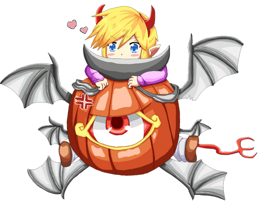 You will be my pumpkin at Halloween