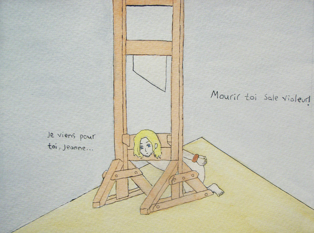 Guillotine French Revolution Drawing | www.imgkid.com ...