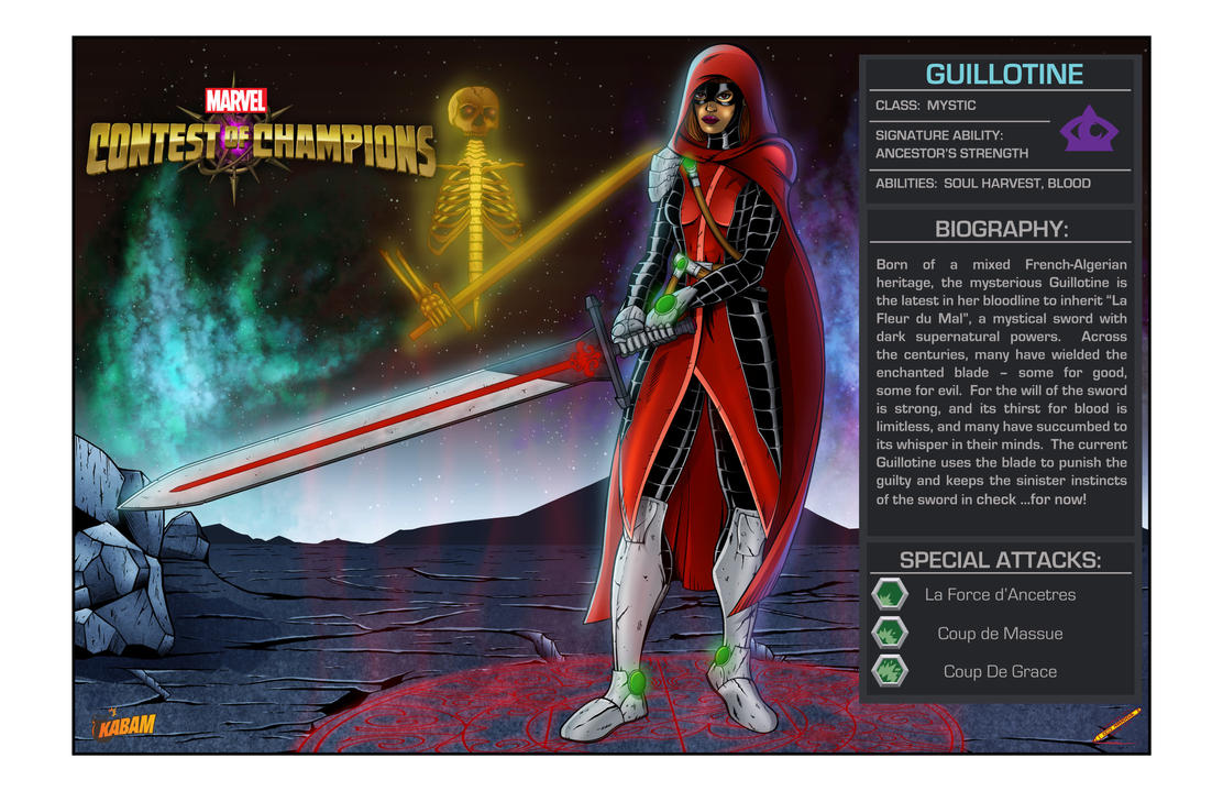 Guillotine-Marvel Contest of Champions by millenniumman001 ...