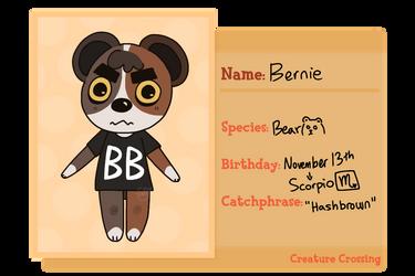 Bernie - Creature Crossing Villager Application