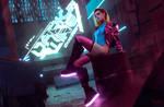 Cyberpunk 2077 Chromanticore at the Night City