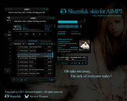 Skumfuk v1.3 - skin for AIMP3 by d1sapp3ar