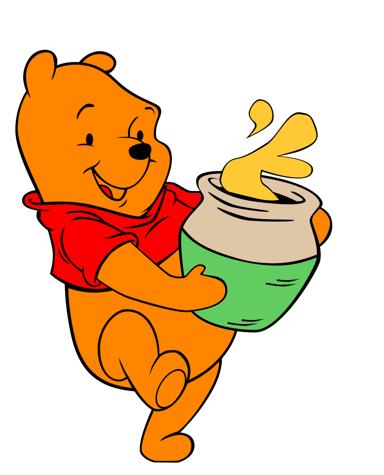 It's just a photo of Comprehensive Pooh Bear Images