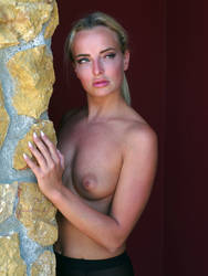 Cool blonde beauty by MarcBergmann