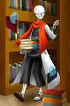 Handplates - Bookworm
