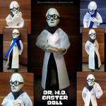 Handplates - W.D. Gaster poseable Doll