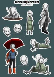 Sticker - Handplates by InnocentiaSanguinis