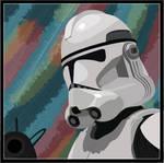 Clone Trooper Vector