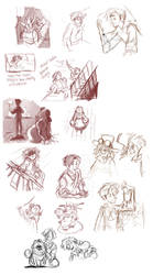 More Jekyll Film Doodles by otherwise
