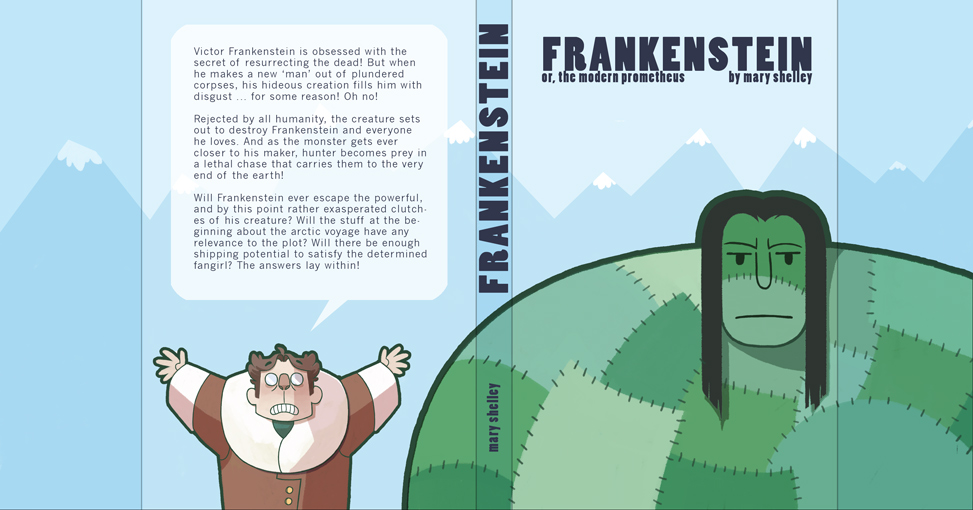 book report of frankenstein Free summary and analysis of the events in mary shelley's frankenstein that won 't make you snore we promise.
