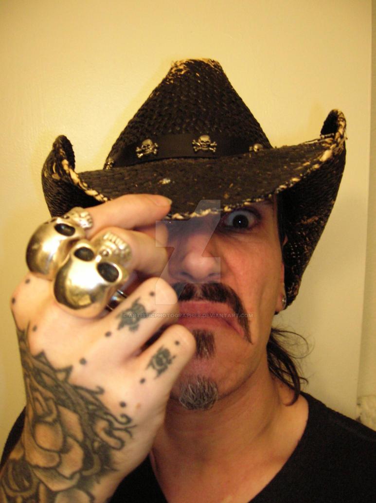 Evil cowboy