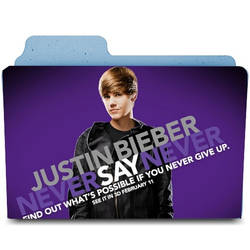 Justin Bieber NSN Icon Folder by kndllalx