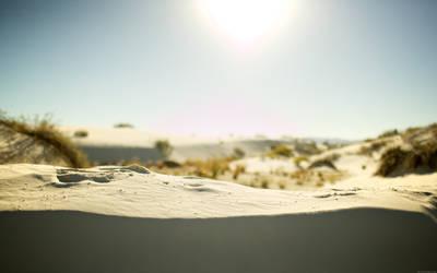Desert Desktop by kndllalx