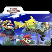 Super Smash Bros Brawl Folder by kndllalx
