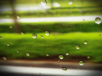 Raindrops On The Highway by kndllalx