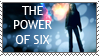 The Power Of Six Stamp by kndllalx