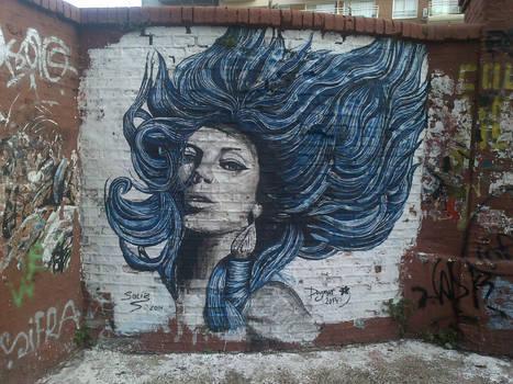Caballito Blue Girl