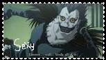 Ryuk-sexy stamp by emoxxangelxx798