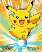 Pokemon-Pikachu by Bejitsu