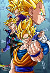 the 4 super saiyans