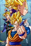 the 4 super saiyans